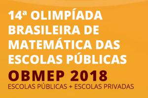 olimpíada de matemática 2018