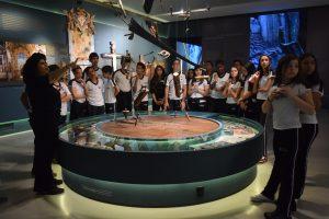 Alunos realizam visita ao Museu de Congonhas