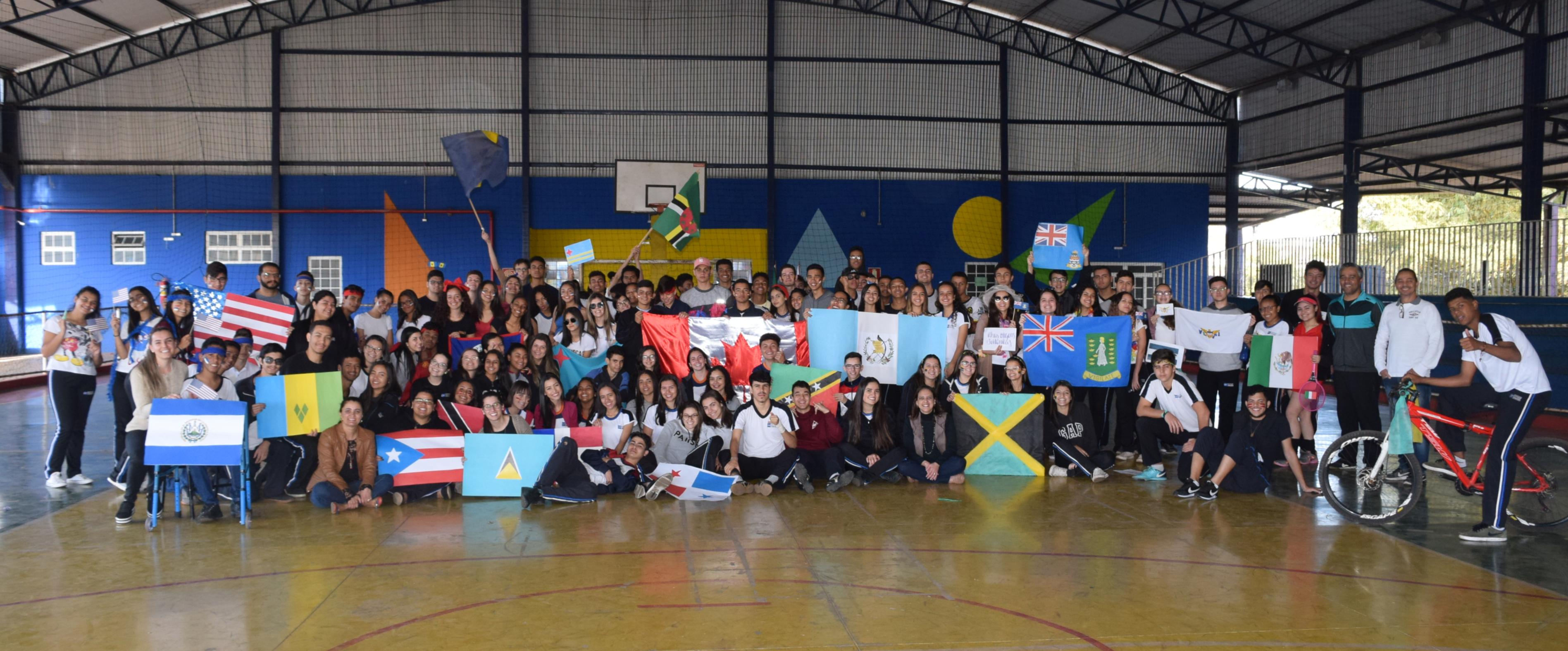 CET promove atividade inspirada nos Jogos Pan-Americanos
