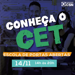 Conheça o CET 2019